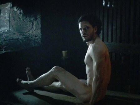 There are far less nude scenes involving women than men — Kit Harrington doing his bit to even the ledger. Picture: Supplied