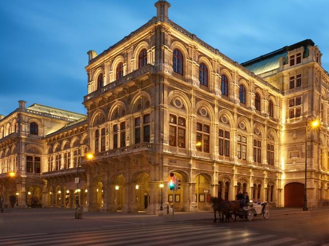 Lyndon Terracini's next itinerary includes Vienna, home to its beautiful Opera House.