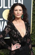 Actor Catherine Zeta-Jones attends The 75th Annual Golden Globe Awards at The Beverly Hilton Hotel on January 7, 2018 in Beverly Hills, California. Picture: Frederick M. Brown/Getty Images