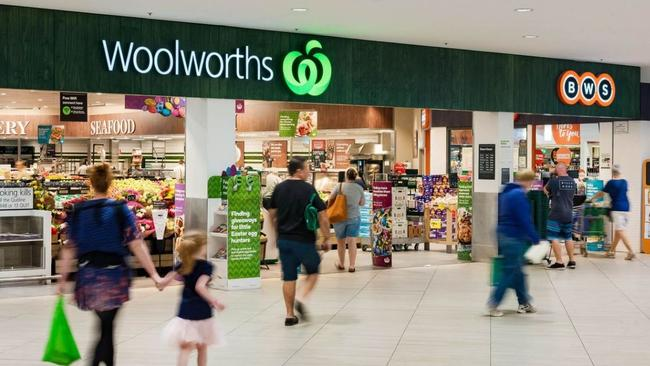 The centre's Woolworths was refurbished last year.