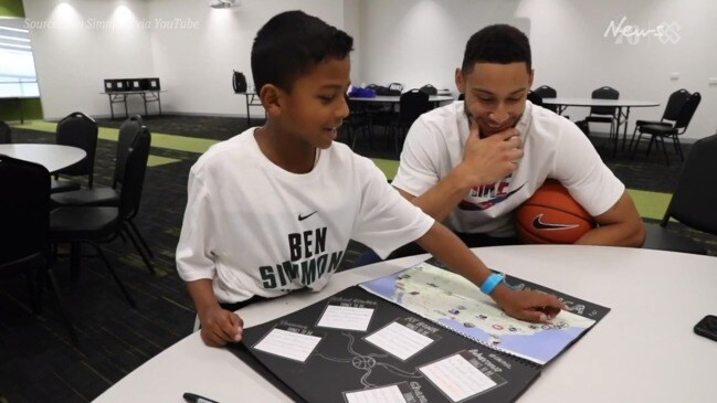 Simmons surprises Aussie kid