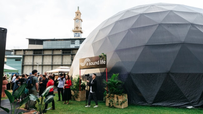 A Sound Of Life dome will be in the Entertainment Quarter. Source: Supplied