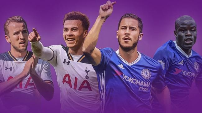Chelsea and Spurs have dominated the EPL team of the year.