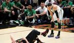 Kevin Love is out with a suspected concussion.