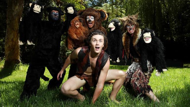 Star of The Jungle Book, Isaac Broadbent, is excited to perform on the unique stage. Picture: Tim Hunter