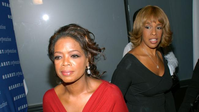 Oprah Winfrey and Gayle King: Two very powerful BFFs. Picture: AP