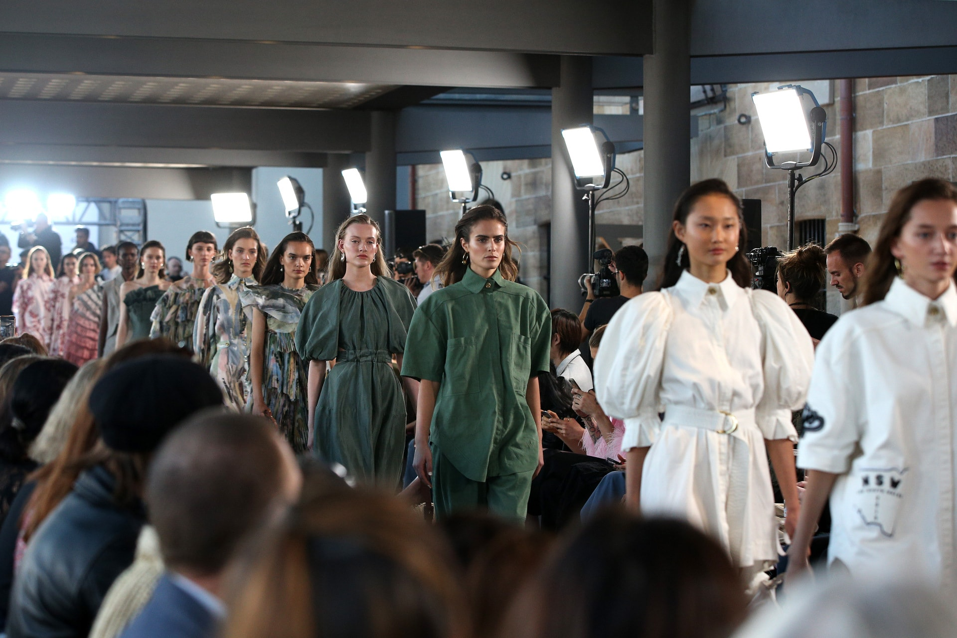 Aje opens fashion week with an all-Australian celebration