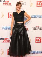 Claudia Karvan on the red carpet at the 2015 Logie Awards at Crown Casino in Melbourne. Picture: Julie Kiriacoudis