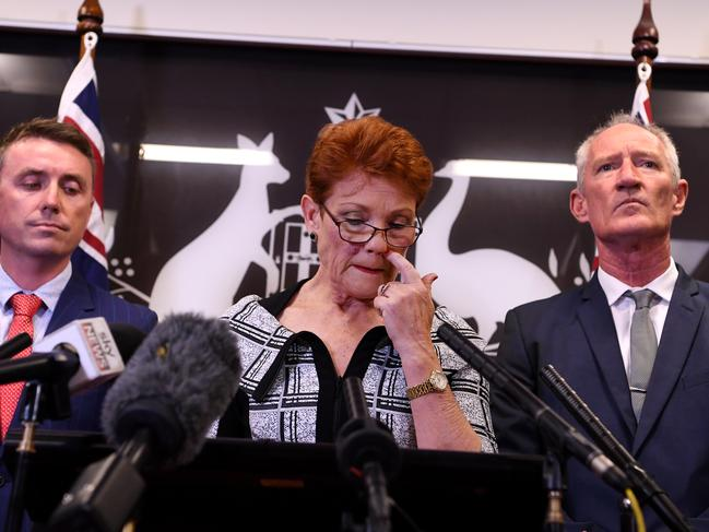 Steve Dickson (right, with Ashby and Hanson after the gun lobby film) resigned on Monday after the Strippergate scandal. Picture: Dan Peled.