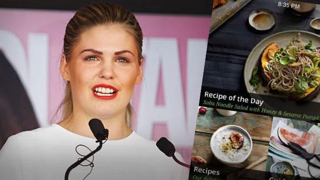 Belle Gibson lied about having cancer and claiming she cured it with natural remedies.