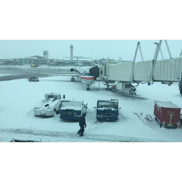 US CO: Blizzard Causes Chaos at Denver International Airport March 23