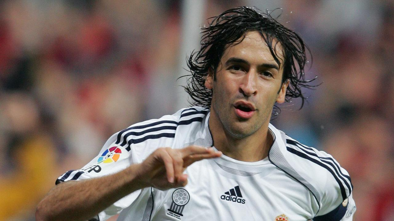 Raul Gonzalez crossed the Madrid divide.