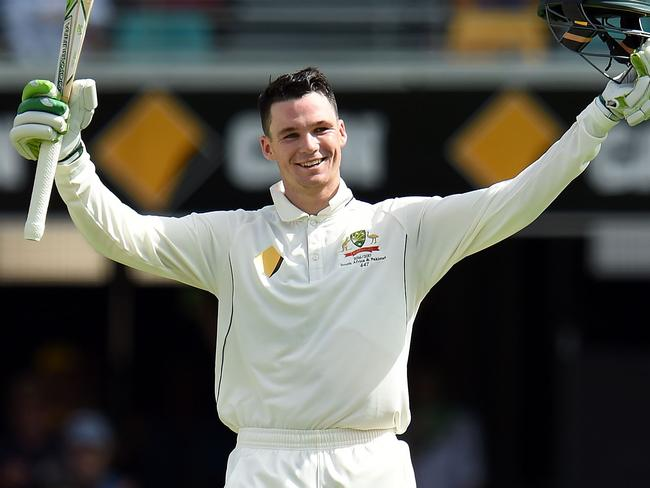 Handscomb will remember this innings for the rest of his life.