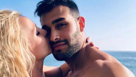 Spears is dating fitness model Sam Asghari.