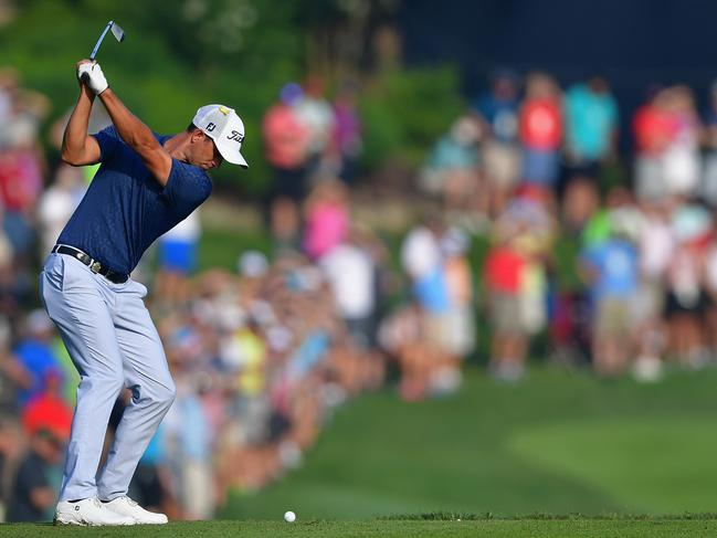 Scott is looking forward to making some noise at the PGA Championship. Picture: AFP