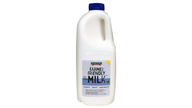 Harris Farm Farmer Friendly Milk (2L) $2.49
