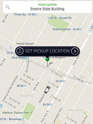 Taxis in the palm of your hand
