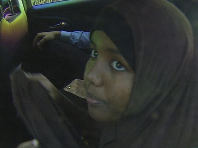 Zainab Abdirahman-Khalif's terror conviction has been overturned. Picture: Nine News