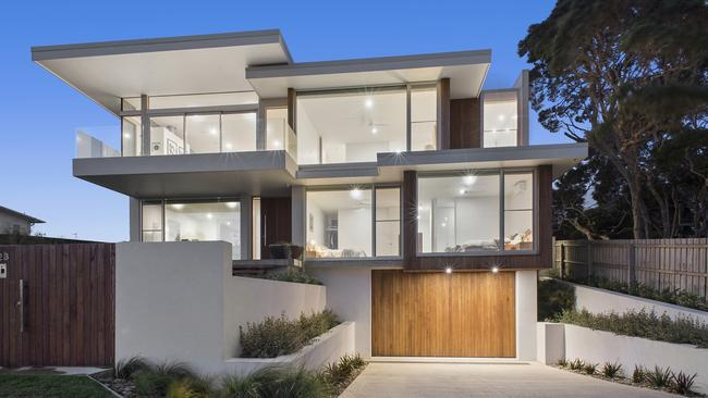 23 The Avenue, Ocean Grove, has been listed with price hopes from $4 million to $4.4 million.
