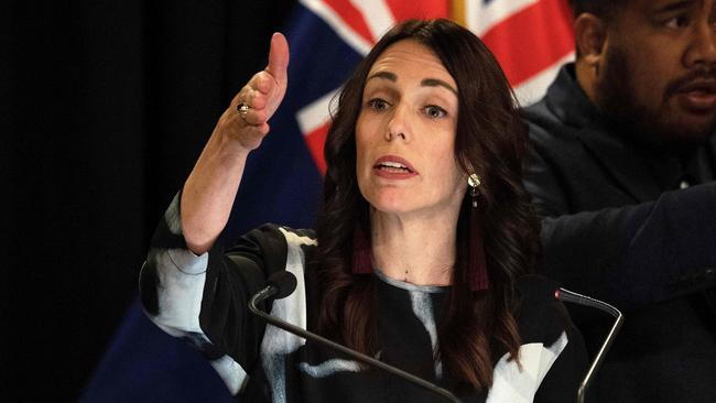 New Zealand Prime Minister Jacinda Ardern says there's no evidence to say Sunday's attack was a response to Christchurch. Picture: Marty Melville / AFP