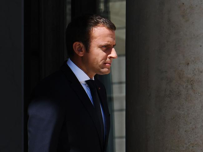 French President Emmanuel Macron recently swept the Presidential and legislative elections but it yet to heal the divide when it comes to the politics of immigration. Picture: AFP PHOTO / ALAIN JOCARD