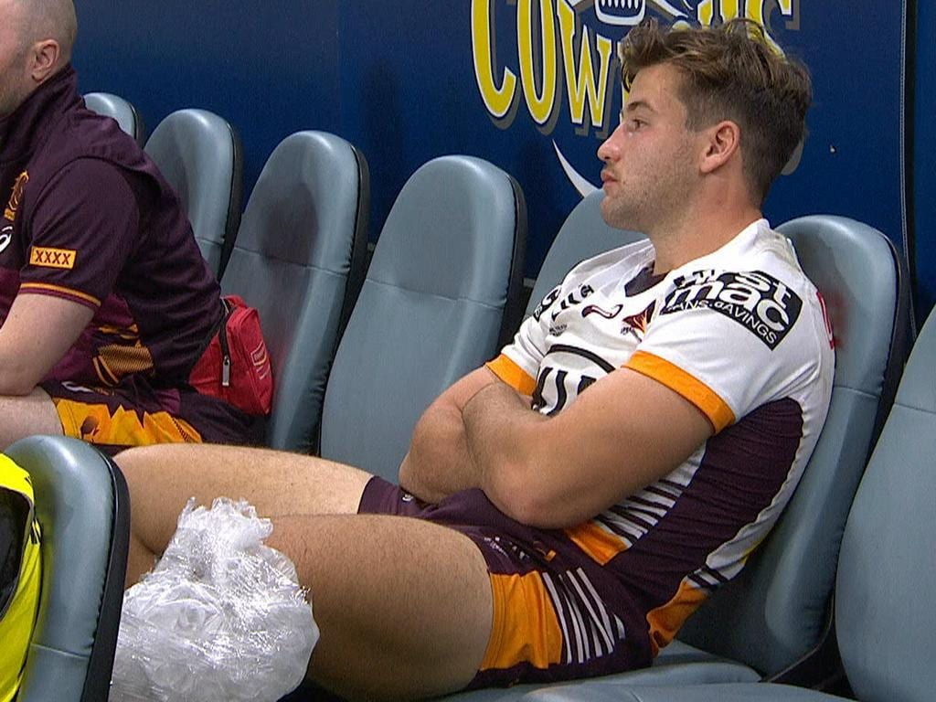 Broncos forward Pat Carrigan injured his knee.