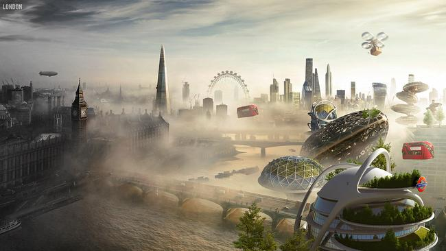 London in the future. Picture: Budget Direct