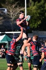 TSS lock Wilson Blyth. GPS Rugby: Brisbane Boys' College v The Southport School at BBC Saturday 24th August 2019. (AAP Image - Richard Waugh)