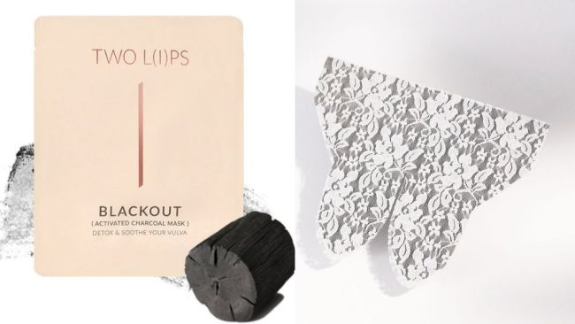 You can buy a charcoal detox mask for your vulva. Source: Supplied