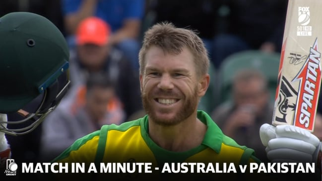 Match in a Minute - Australia v Pakistan