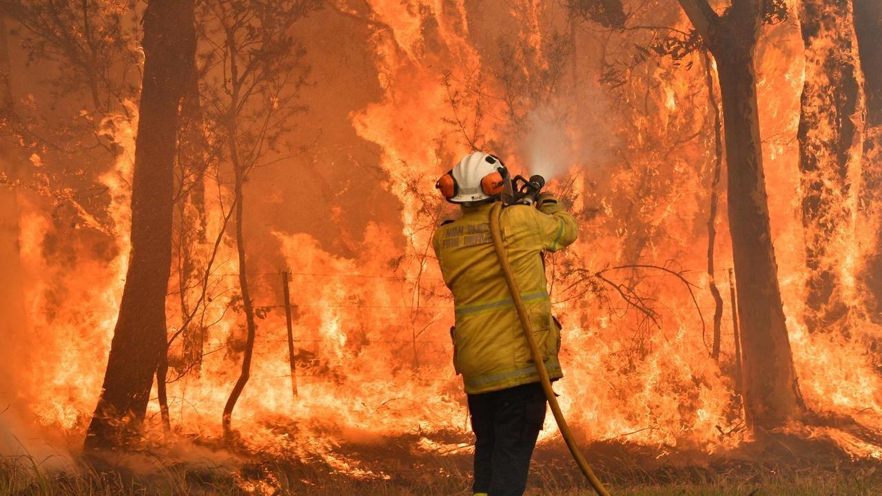 Australia Bushfires Fireys