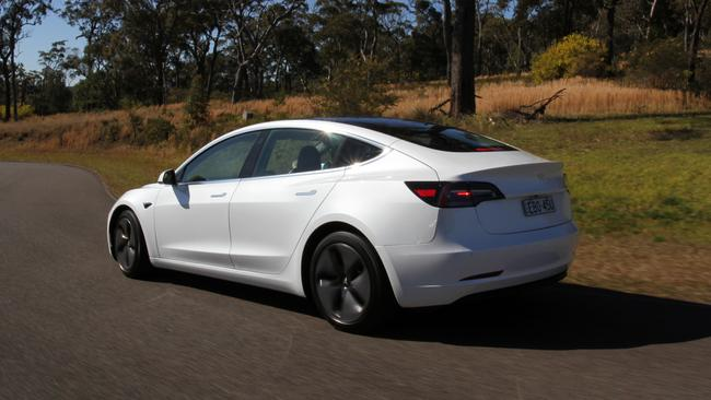 The Tesla Model 3 has arrived in Australia.