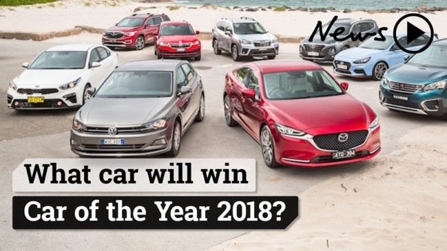 What car will win News Corp Car of the Year 2018