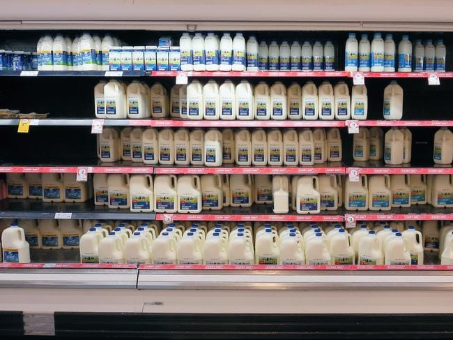 People are calling for an end to $1 a litre milk. Picture: Getty Images