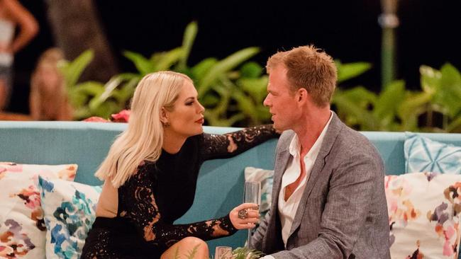 Maguire claimed their problems began while watching episodes of Bachelor in Paradise earlier this year