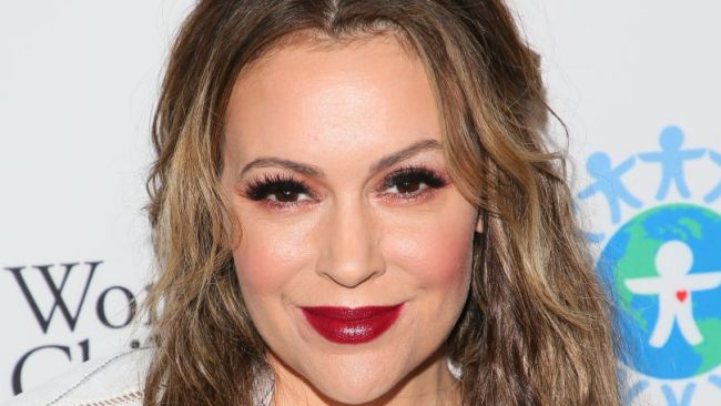 Alyssa Milano says sex strikes have worked in the past. Photo: JB-Lacroix/Wire Image via Getty.