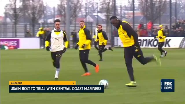 Usain to trial with CCM