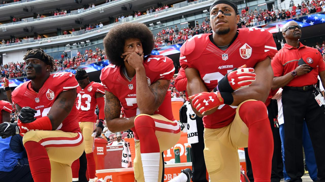 America might not be in the position it is had it listened to Colin Kaepernick.