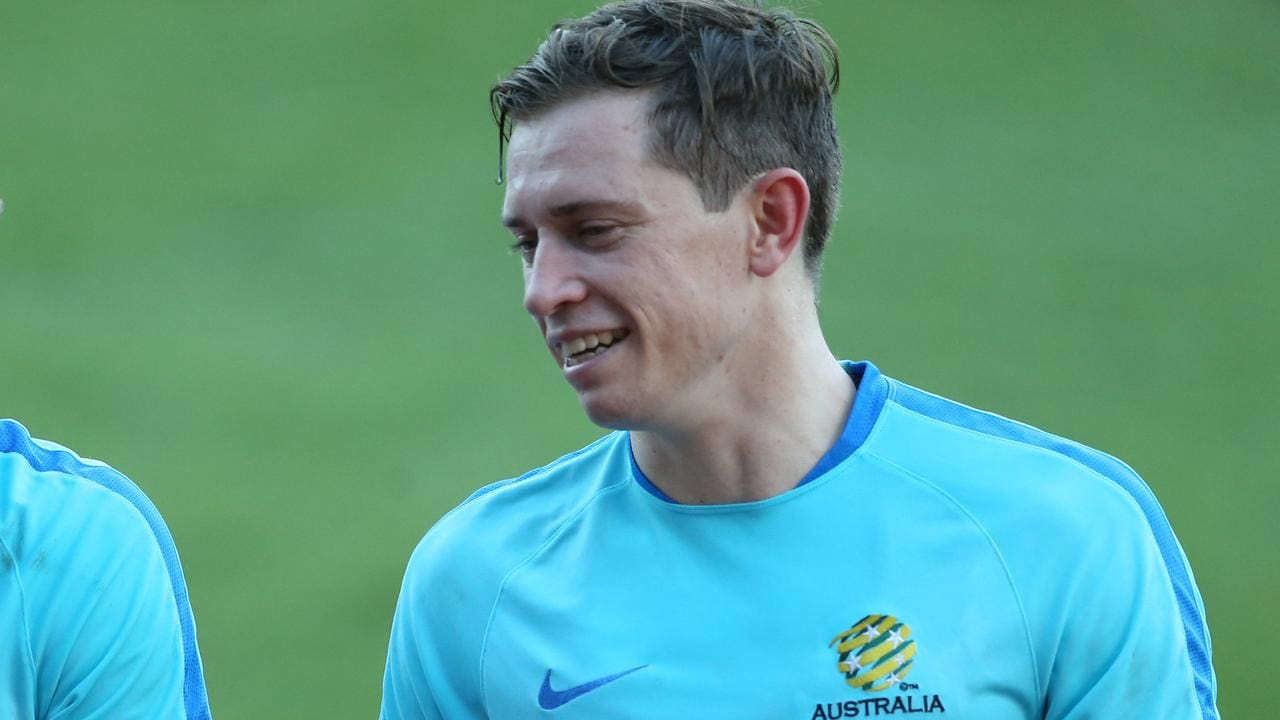 Craig Goodwin has been named as one of the four train-on players in Graham Arnold's Socceroos squad to take on South Korea in Brisbane next week.
