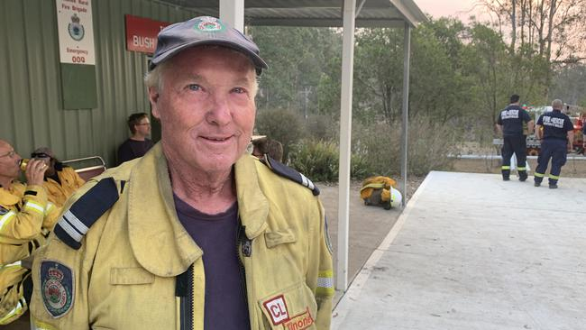 Bruce Annetts is a volunteer with the NSW Rural Fire Service.