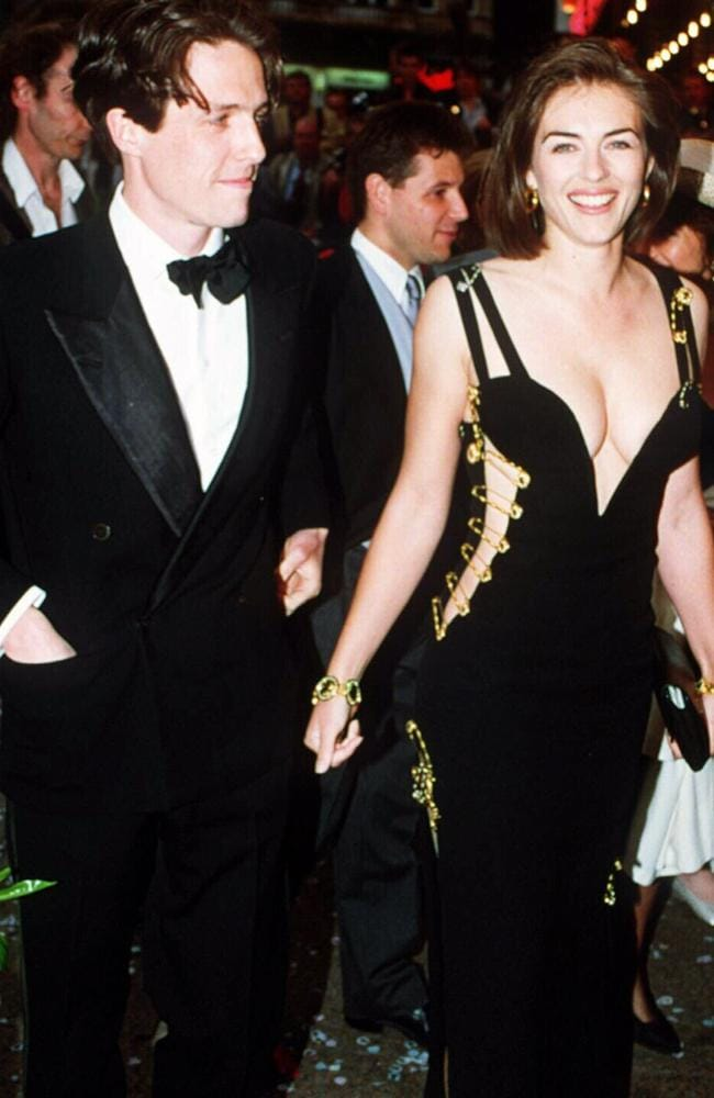 "Elizabeth Hurley's black Versace dress from 1994 has gone down in history, with the outfit being hailed as the ""greatest red carpet"" ensemble of all time."