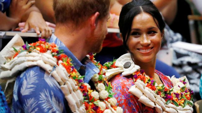 Meghan and Harry also attended the University of the South Pacific. Source: Getty Images