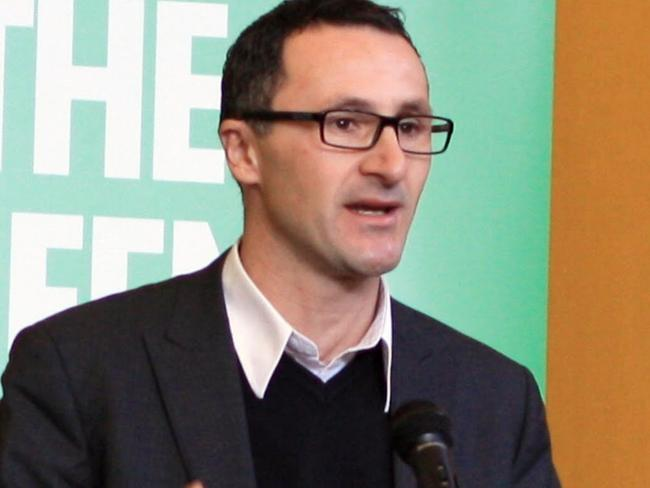 Richard Di Natale is the new Greens leader.
