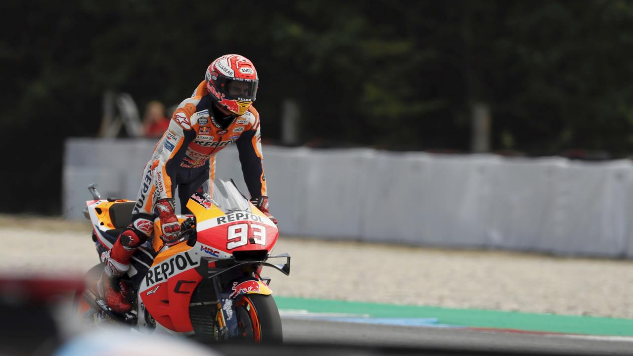 Marquez was untouchable in the end.