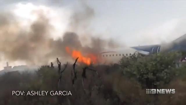 Inside Air Mexico crash (9 News)