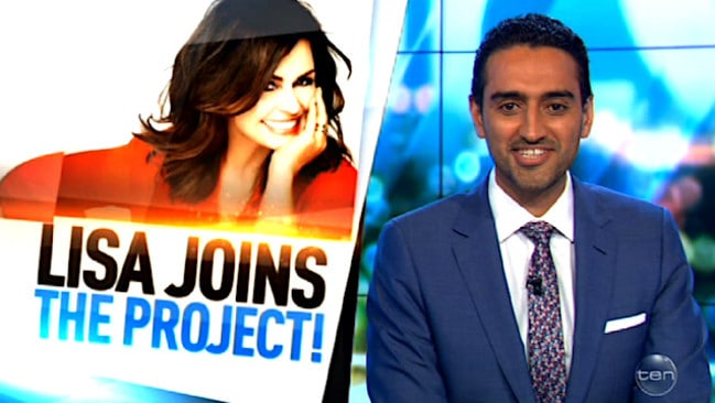 Waleed Aly announces Wilkinson's addition to The Project line-up.