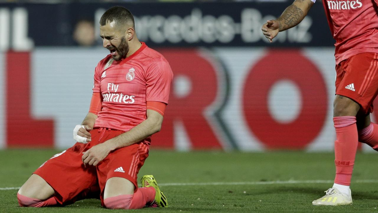 Karim Benzema's goal was enough for a draw.